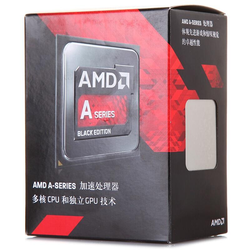 云南CPU批发 AMD APU系列 A8-7650K 四核处理器 盒装CPU FM2+接口 R7核显