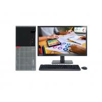 联想商用台式电脑ThinkCentre E95企业办公台式电脑税控主机串口并口 主机+21.5英寸高清显示器 G3930双核 4G 1TB Win7 定制