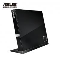 华硕(ASUS) SBW-06D2X-U 6倍速 USB外置蓝光光驱刻录机 兼容苹果系统 黑色