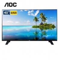 AOC 40英寸1080P高清LED液晶平板电视机/可做显示器  官方标配