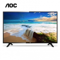 AOC 液晶电视 LE43M3778 43英寸 HDMI全高清1080P硬屏LED显示器