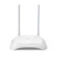 TP-LINK TL-WR840N 300Mbps无线路由器 家用无线智能wifi普联路由器穿墙高速 白色