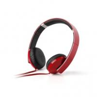 漫步者(Edifier) H750 头戴式立体声折叠便携电脑手机通用音乐耳机 法拉利红