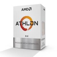 AMD 速龙200GE 盒装CPU双核四线处理器 ZEN架构 带集显 支持A320 (AM4-Zen-200GE 3.2G )