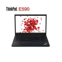 联想ThinkPad 锐/E590 15.6英寸轻薄窄边框商务办公手提ibm笔记本电脑 @2VCD E590-2VCDI5-8265U/8G/256G/2G 独显/w10/黑-高分屏 15.6