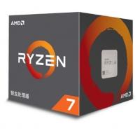 AMD 锐龙 R7-2700X 处理器 (r7) 8核16线程 AM4 接口 3.7GHz 盒装CPU 云南卓兴商城推荐