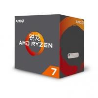 AMD 锐龙 R7-1700X 处理器 (r7) 8核AM4接口 3.8GHz 盒装CPU 云南电脑批发