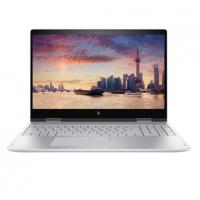 """惠普(HP) 15.6英寸轻薄翻转触控笔记本 ENVY x360 15- CN1003TX(i7-8565U/15.6"""" /8G/512G PCIE SSD/MX150 4G/Win10)独显 银"""