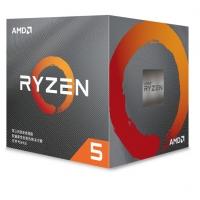 AMD锐龙5 3600X 处理器 (r5)7nm 6核12线程 3.8GHz 95W AM4接口 盒装CPU 云南电脑批发