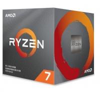 AMD锐龙7 3700X 处理器 (r7)7nm 8核16线程 3.6GHz 65W AM4接口 盒装CPU 云南电脑批发
