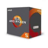 AMD Ryzen5 1600 六核12线程锐龙R5台式机电脑盒装CPU处理器