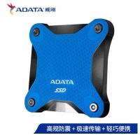 威刚(ADATA)移动硬盘 固态(PSSD) USB3.1 SD600Q 蓝色 480GB