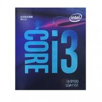 英特尔(Intel) i3-9100 酷睿四核 盒装CPU处理器 云南电脑批发