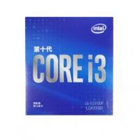 英特尔(Intel)i3-10100F 4核8线程 盒装CPU处理器