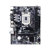 技星H61M-S22主板 VGA+HDMI