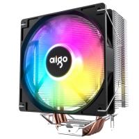 aigo爱国者冰锋400V PRO 风扇CPU散热器RGB炫彩电脑台式机静音多平台散热器